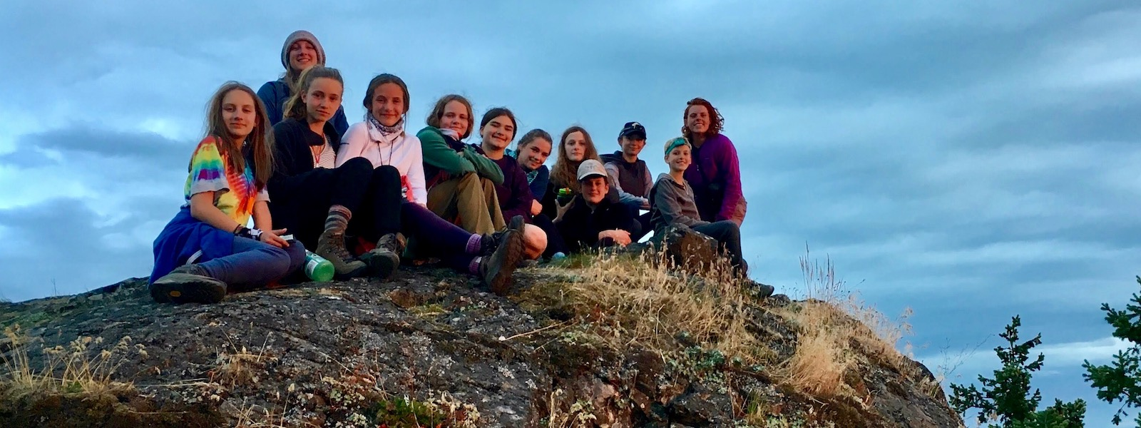 Coastal Backpacking Camp for Girls in Washington