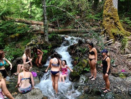 Living Outdoors Personal Hygiene at Camp