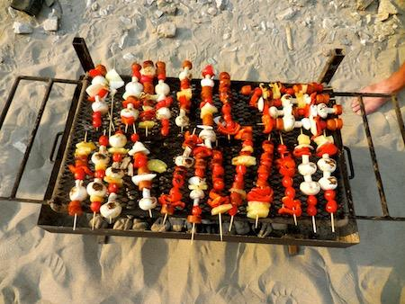 Girls Camp Cooking Skills Outdoors Fun