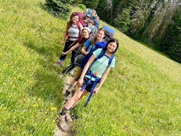Backpacking Tobacco Root Mountains