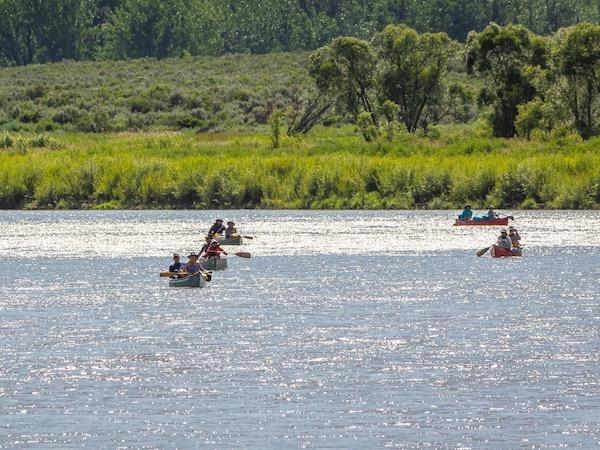 Canoe missouri river breaks