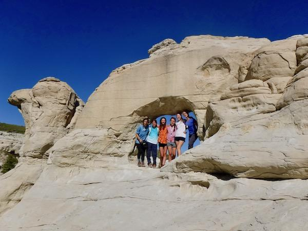 Hiking White Cliffs
