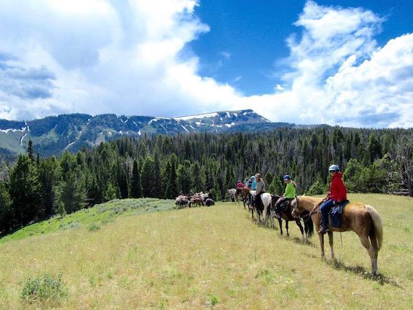Mountainous Horse Trip at Alpengirl