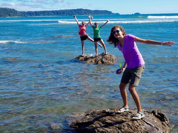 Pacific coast summer camp fun