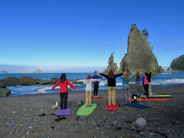 Daily yoga girls camp