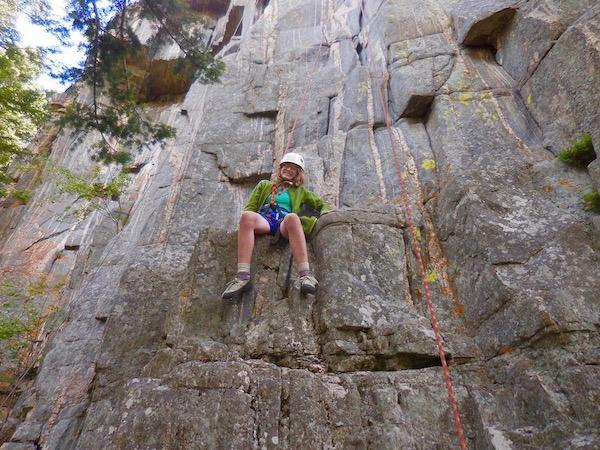 Girls Adventure Rock Climbing Camp