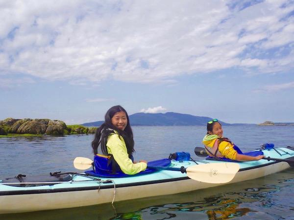 Sea Kayaking San Juans Island