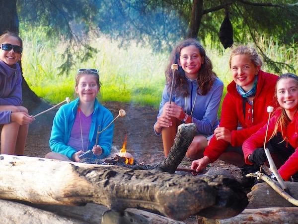 Campfire girls camp
