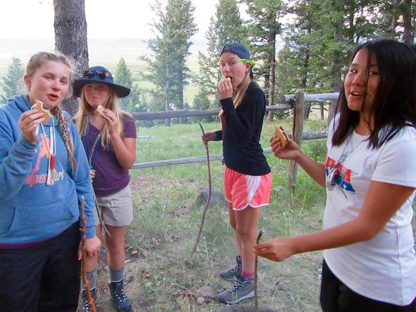 Friendships and Smores at Horse Camp