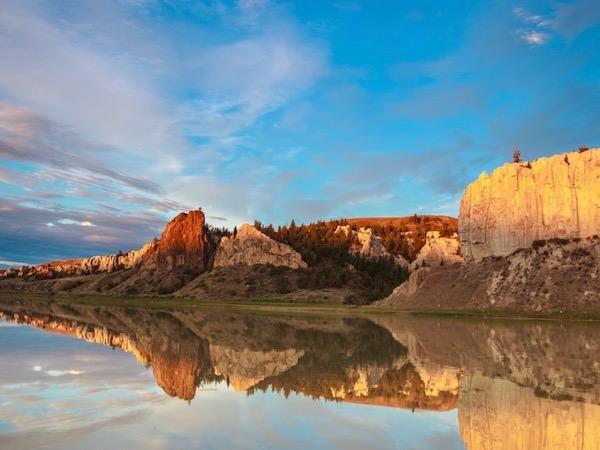 Upper Missouri River Sunrise