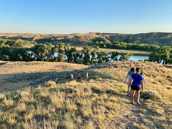 Missouri River Breaks Hikers