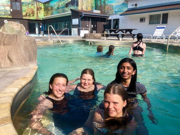 SW Montana Hot Spring Alpengirl Camp