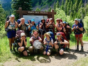 Backpacking Spanish Peaks Adventure Girls