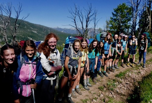 Wilderness Girls Adventure Camp